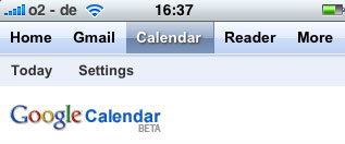 Google Kalender iPhone