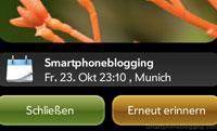 iPhone Notification Palm