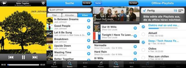 deutsche napster konkurrenz simfy bietet musik als streaming abo mit iphone app und offline. Black Bedroom Furniture Sets. Home Design Ideas