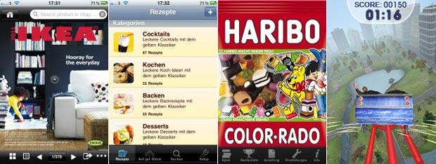 kostenlose werbeapps ikea katalog verpoorten rezepte und spiele von haribo und barclays. Black Bedroom Furniture Sets. Home Design Ideas