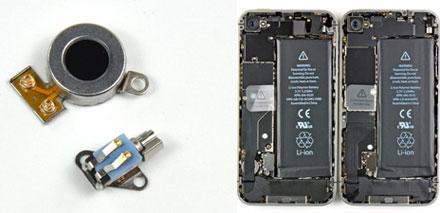 hardware evolution beim verizon iphone 4 f nf unscheinbare ger te nderungen iphone. Black Bedroom Furniture Sets. Home Design Ideas
