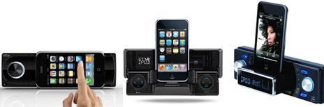 Drei Autoradios Mit Iphone Dock Anschlüssen Videos Iphone Tickerde