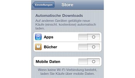 mobile daten für app download aktivieren