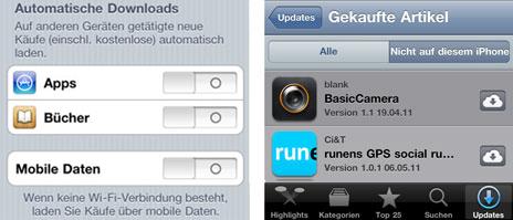 iphone in app käufe aktivieren