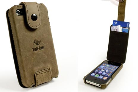 Tuff-Luv In-Genius iPhone-Case Saddleback