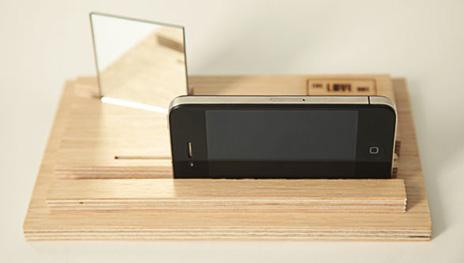 Fantastisch LoveBox: Low-Tech Holzkiste erlaubt iPhone-Videoaufnahmen in zwei  FL88