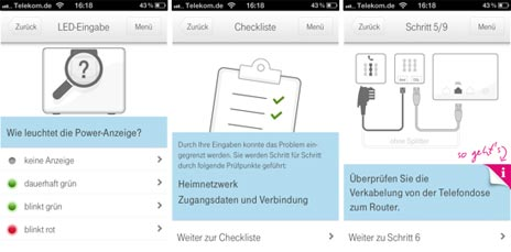 neue telekom app unterst tzt bei dsl problemen iphone. Black Bedroom Furniture Sets. Home Design Ideas