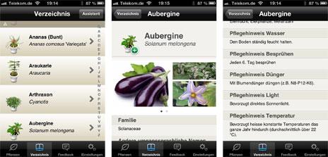 Pflanzen app