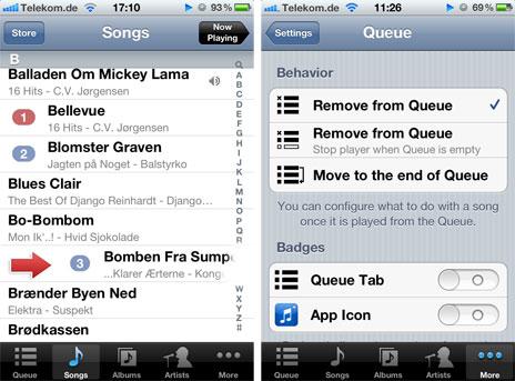 geheimtipp live wiedergabelisten mit music kostenlose musik app verwaltet party soundtrack. Black Bedroom Furniture Sets. Home Design Ideas