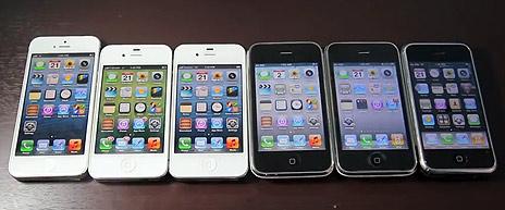 Alle iphones