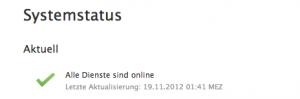 Status-icloud