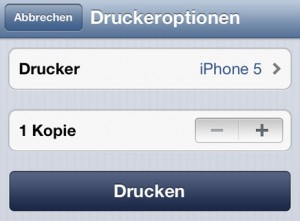 druckoption