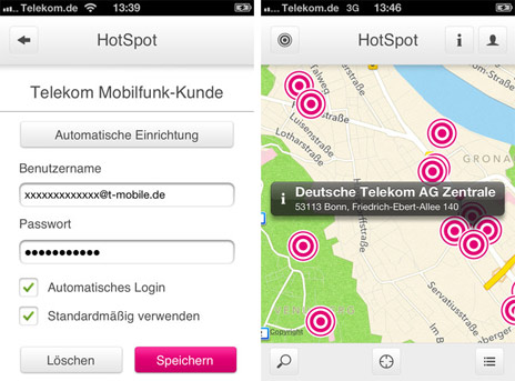 aktualisiert hotspot app der telekom jetzt mit auto login. Black Bedroom Furniture Sets. Home Design Ideas