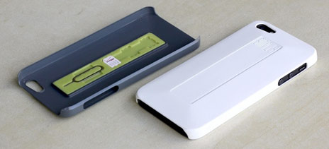 Simplcase iphone 5 reiseh lle fragt nach community for Tisch iphone design