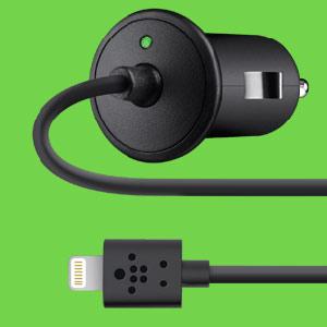 Angeschaut: Belkin Auto-Ladegerät mit Lightning-Anschluss – Günstige Alternative: Gewöhnlicher KFZ-Adapter mit USB
