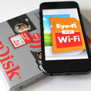 Eye-Fi im Video Test: SanDisks SD-Karte überträgt Bilder drahtlos, versteht sich auf iPhone und iPad