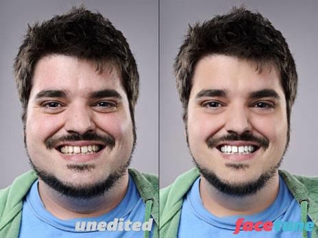 Gesicht verschönern app