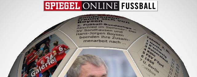 Statt übersichtliche Kategorien Anzubieten, Startet Die SPIEGEL Online  Fußball App Mit Einem Animierten 3D Fußball, Der Die Informationen Rund Um  1. Und ...