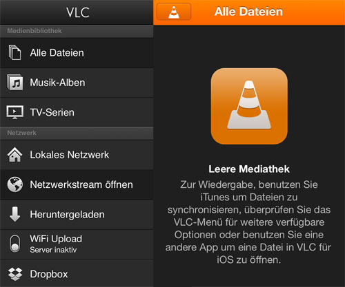 samstags apps vlc aktualisiert recordium auf deutsch. Black Bedroom Furniture Sets. Home Design Ideas