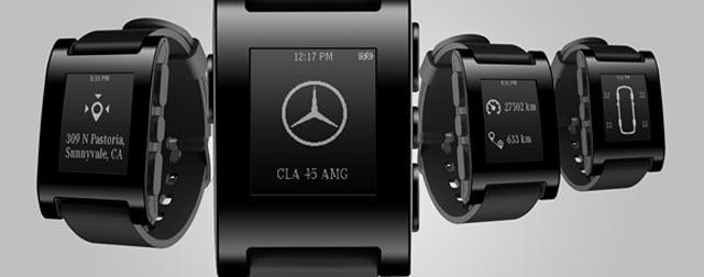 Mercedes-Benz will Pebble Smartwatch integrieren › iphone ...