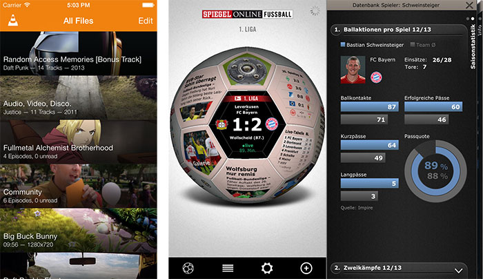 Gro e updates vlc player spiegel online fu ball for Spiegel tv mediathek download