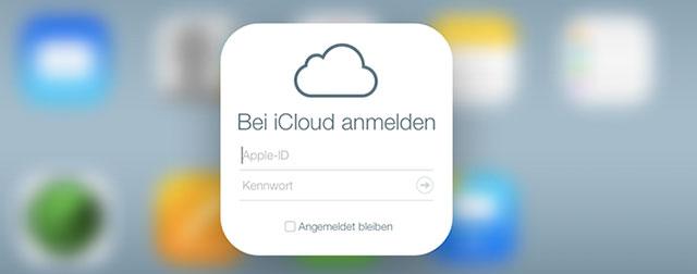 Iphone icloud abmelden neu anmelden