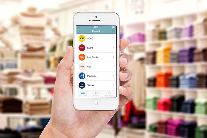 kundenkarten stocard erweitert app um passbook integration iphone. Black Bedroom Furniture Sets. Home Design Ideas