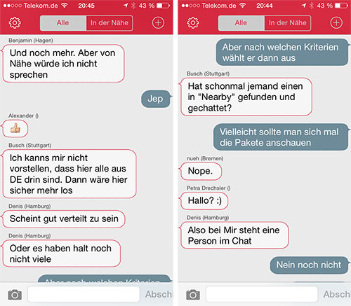 Dating-chat-site ohne registrierung