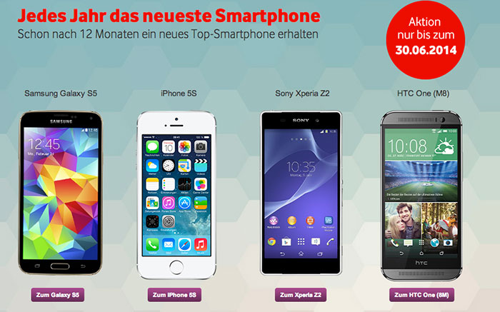 vodafone nextphone mobilfunker verspricht jedes jahr ein neues smartphone iphone. Black Bedroom Furniture Sets. Home Design Ideas