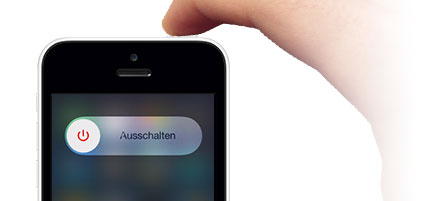 standby knopf iphone 5