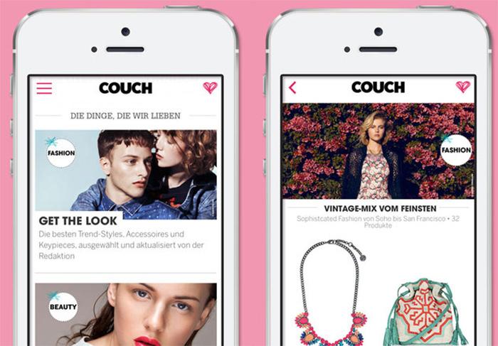 couch app kombiniert design und mode neues ios magazin von g j iphone. Black Bedroom Furniture Sets. Home Design Ideas