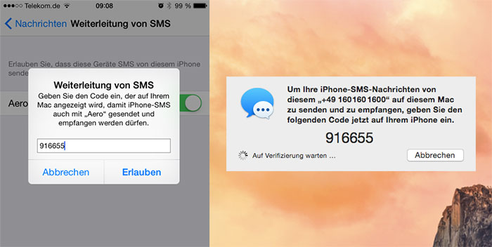 ansicht iphone code eingeben geht nicht weg