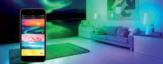 angeschaut die app gesteuerte bluetooth led lampe avea von elgato iphone. Black Bedroom Furniture Sets. Home Design Ideas