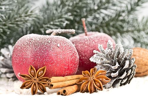 weihnachten-apfel