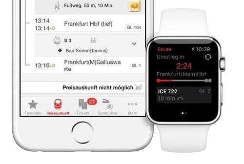praktische apple watch apps db navigator und elgato avea iphone. Black Bedroom Furniture Sets. Home Design Ideas