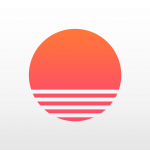sunrise kalender icon