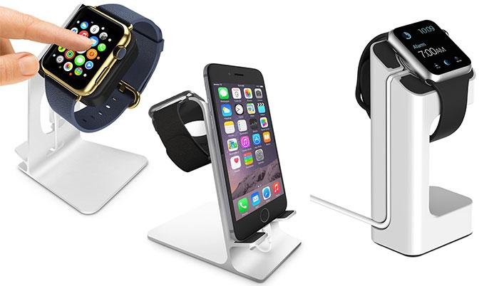 apple watch st nder diese docks sind verf gbar nutzer bauen selbst iphone. Black Bedroom Furniture Sets. Home Design Ideas