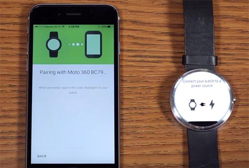 Android Wear Und Ios Das Erst Setup Im Video Iphone Tickerde