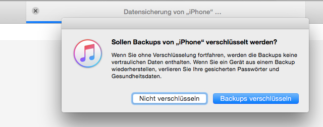 altes iphone backup wiederherstellen