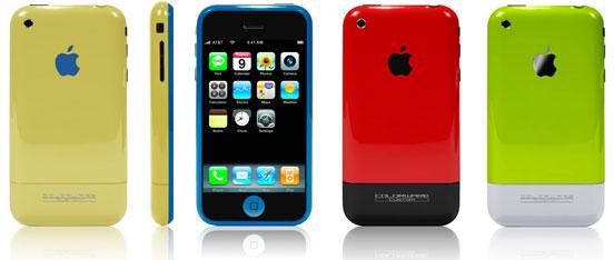 iPhone Farben