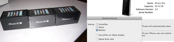 iPhone 3G S ausgeliefert