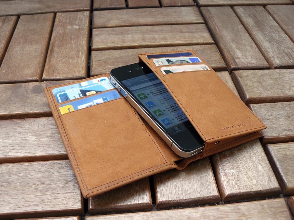 iphone 5 hülle mit geldbörse