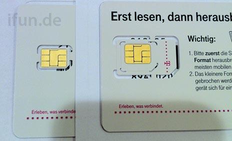 Neue Sim Karte.Telekom Startklar Furs Neue Iphone Die Nano Sim Liegt