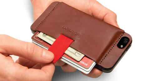 iphone 5 hülle geldbörse