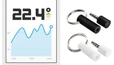 iphone temperatur messen