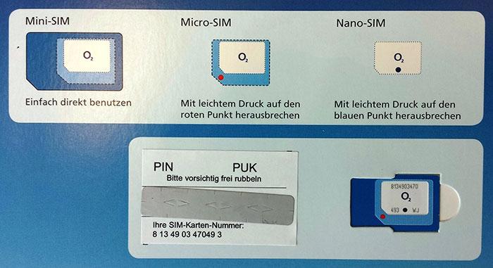 Was Ist Eine Triple Sim Karte.Triple Sim Card O2 Führt Neue Kombi Sim Ein Iphone Ticker De