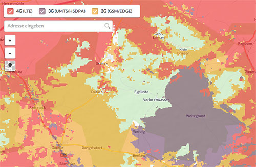 Lte Netzabdeckung Karte.Vodafone Neue Netzabdeckungskarte Zeigt Netzqualitat