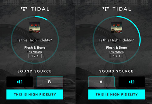Kopfhörer aufsetzen: Besteht ihr Tidals Streaming