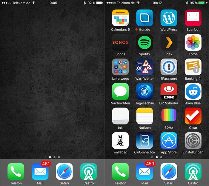 App hintergrundbild selbst gestalten iphone